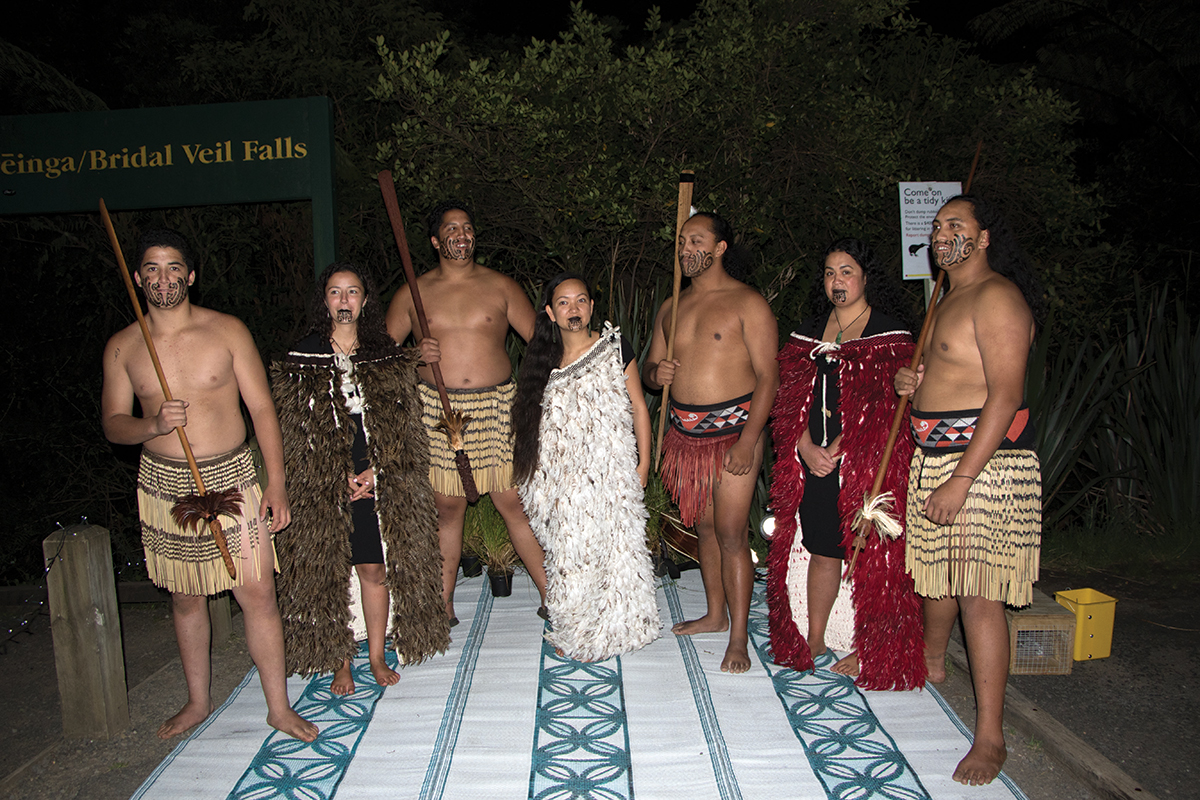'Authentic' cultural experience all set to go at Bridal Veil Falls