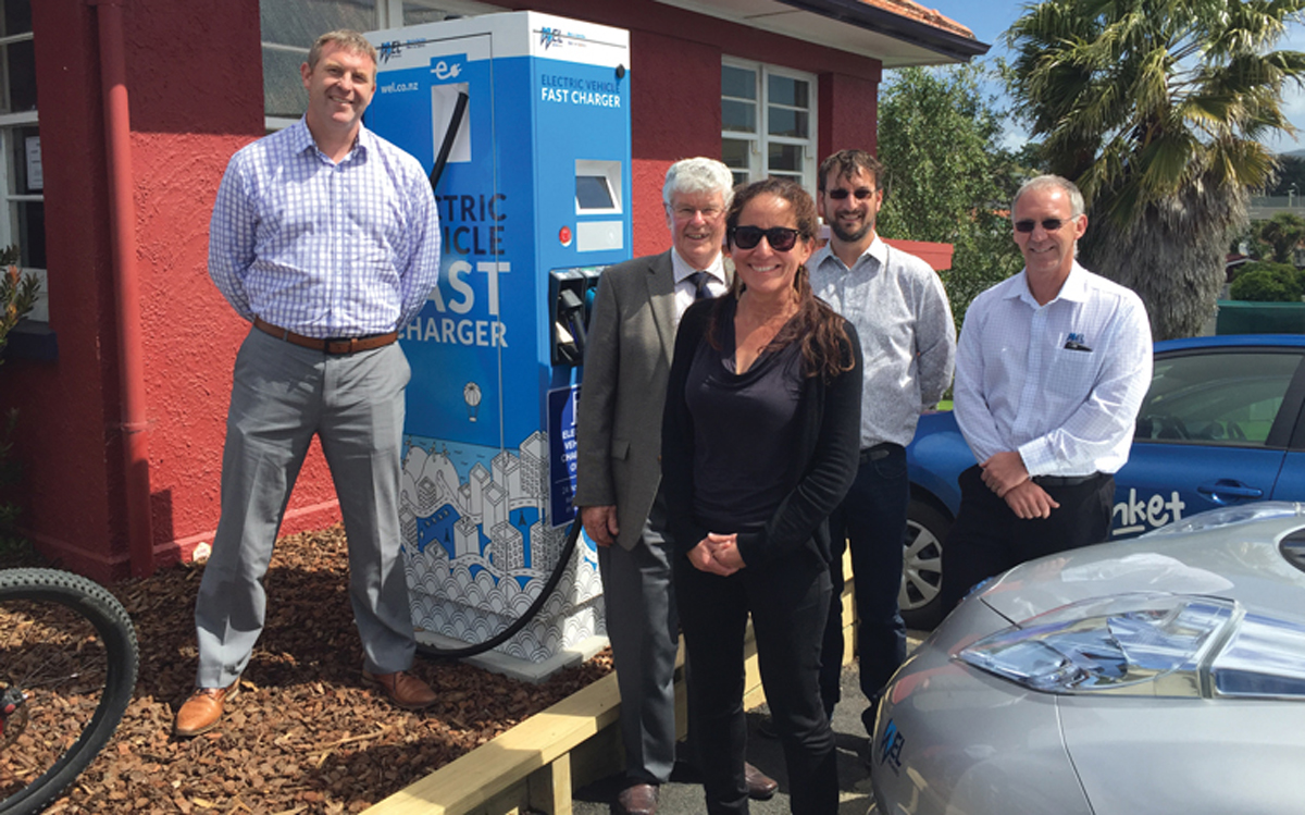 "Electric vehicle fast charger a ""benefit"" to local community"