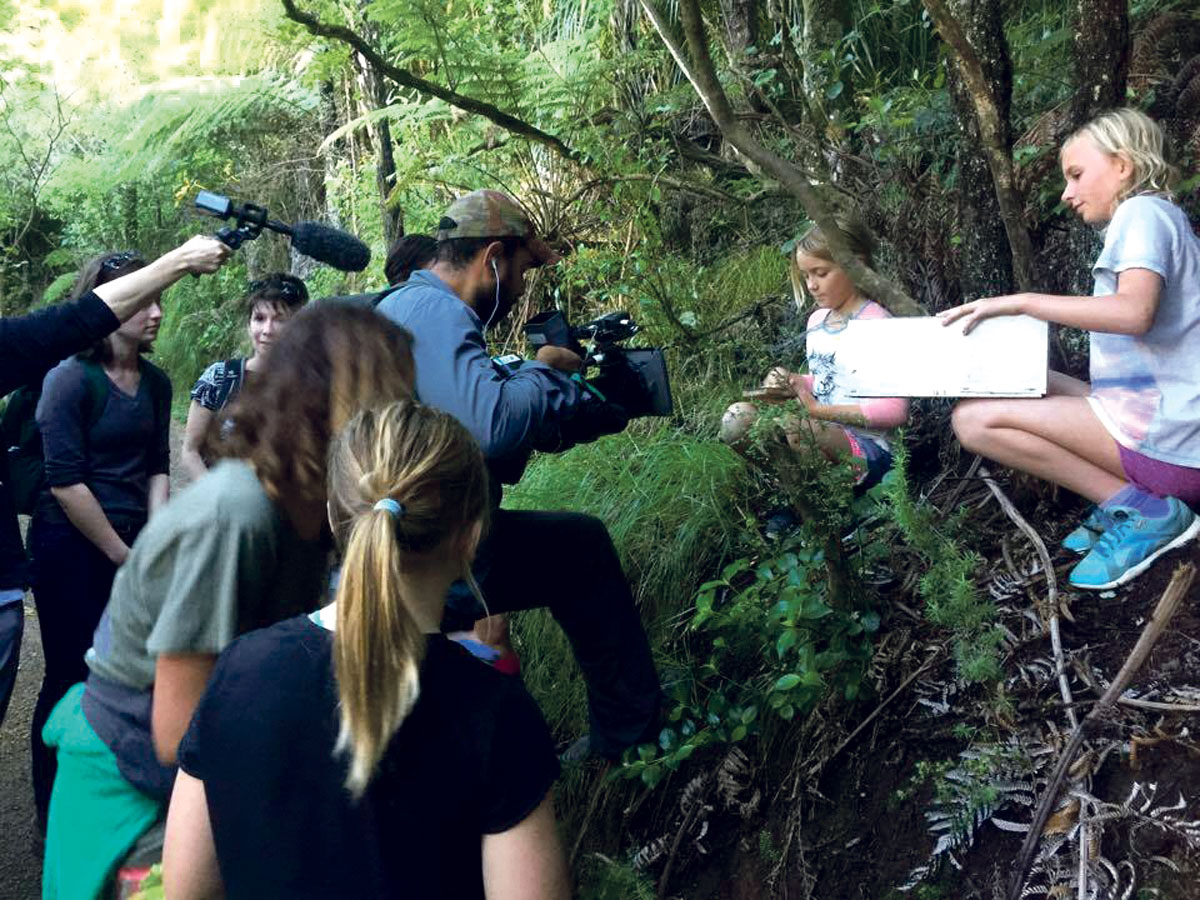 Karioi Rangers take Canadian TV crew off the beaten path