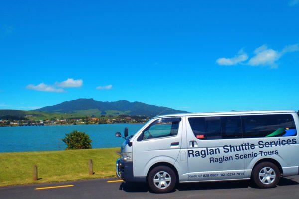 Raglan Shuttle Service 9 Seater Mt Karioi